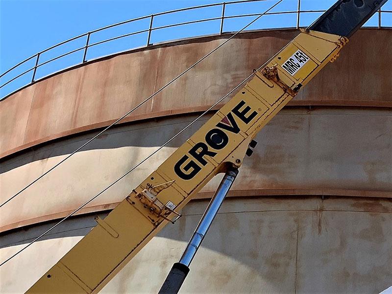corrosion control crane makeover